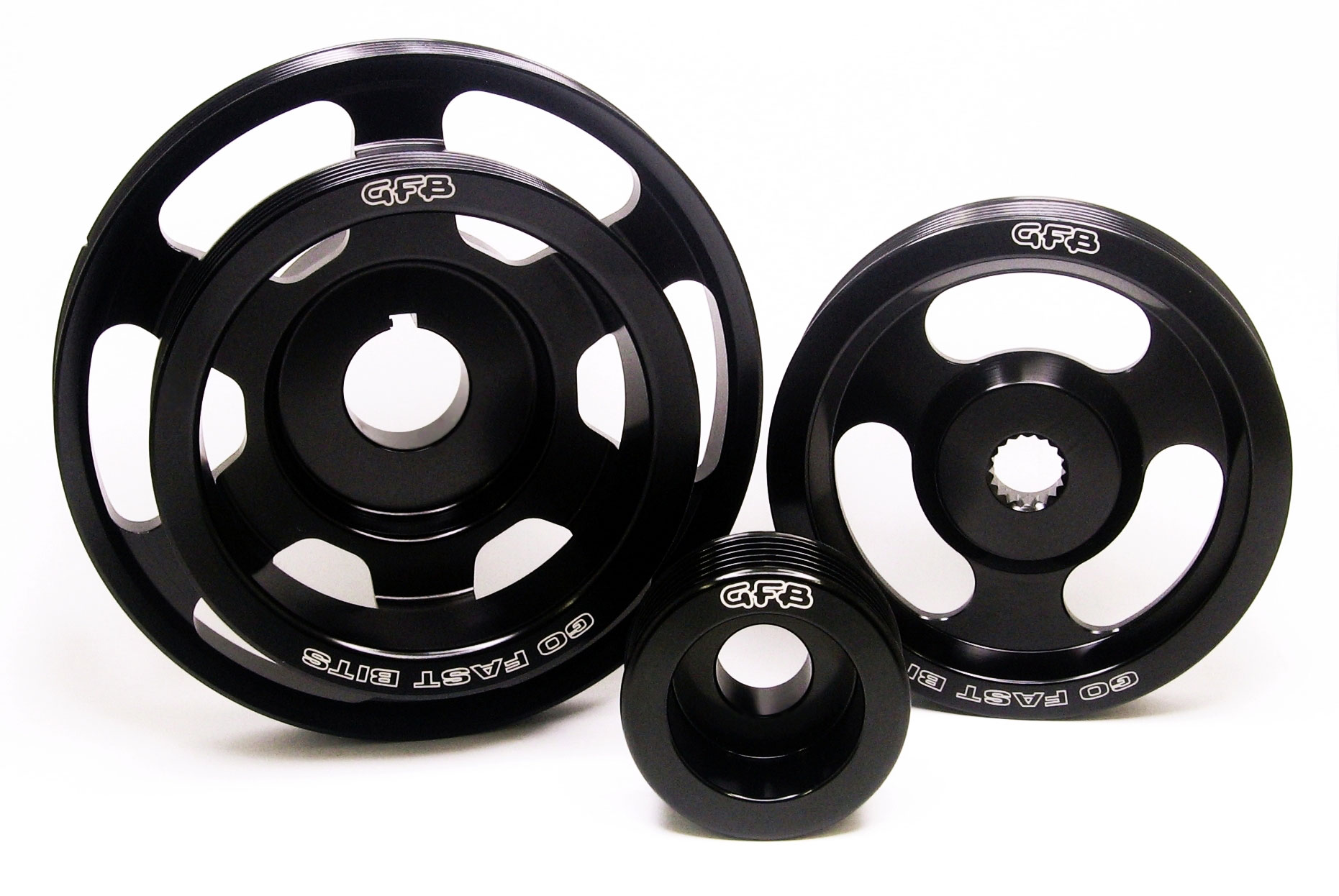 2014 Lightweight Pulley Kit or Lightened Underdrive Pulleys