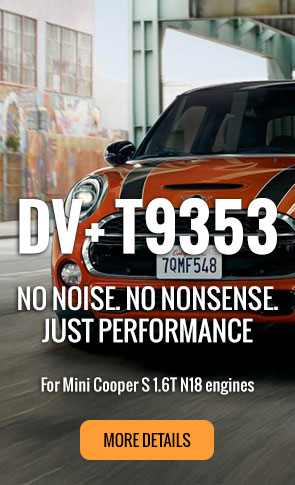 DV+ T9353 for the Mini Cooper S 1.6T N18 engines